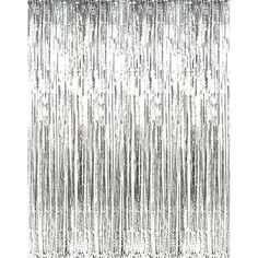 Kangaroo's Gold Foil Fringe Curtains (1 PC) by Kangaroo; Party Supplies