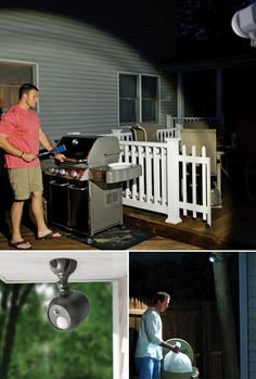 Easy home security with Mr Beams wireless outdoor LED spotlights