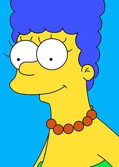 Marge Simpson -  Gemälde - 30 x 40 cm by pop-art-galerie, schönes Gemälde Gemälde ist in Acryl Handgemalt - kein Druck (Leinwand auf Keilrahmen) Mit Zertifikat ...