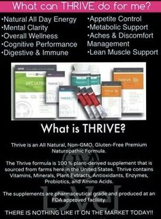 What is Thrive  http://cecilymeyers.le-vel.com/