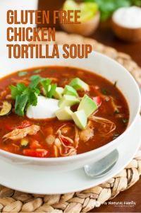 My Recipe Magic - Gluten Free Chicken Tortilla Soup Recipe