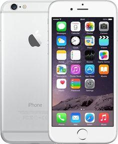 Apple iPhone 6 16GB Silver, Unlocked B