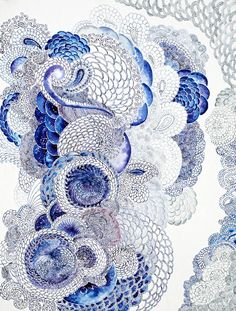 a symphony of blue by krista