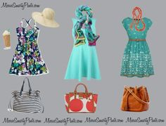 This week at MissusSmartyPants: Beat The Heat: Summer Outfits!