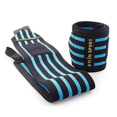 KYLIN SPORT 21 Wrist Wraps with Thumb Loops Professional Wrist Support Braces Protector for Weight Lifting Crossfit Powerlifting Strength Training BlackBlue >>> Check out this great product.(This is an Amazon affiliate link and I receive a commission for the sales)