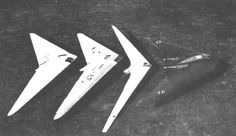 From 1931 through 1945 the German Horten brothers built more than ten flying wing models, from sailplanes to those powered by reciprocating engines and jet engines.
