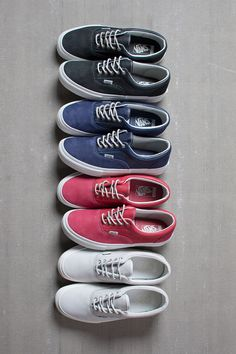 preludetoreality:  Vault by Vans fall '14 Era LX | Source  wish all of these were mine