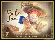 mybeerbuzz.com - Bringing Good Beers & Good People Together...: Founders 2016 Art Prize - Pale Joe Pale Ale w/Coff...