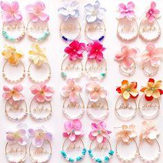 * * 2月25.26日 空フラHawaii用作品 去年も人気だったフラワーピアス カラフルで一気に春だ♡♡♡ * #2月25.26日 #空フラhawaii #中部国際空港セントレア #Hawaiiイベント * * #ハンドメイド #ハンドメイドジュエリー #ハンドメイドピアス #ハンドメイドアクセサリー #handmade  #handmadejewelry  #hawaiianjewelry #handmadeaccessory  #beachjewelry#beachstyle #ワイヤー #ワイヤージュエリー #ワイヤーアクセサリー #ワイヤーピアス #ビーチアクセサリー #ビーチジュエリー #ハワイアンアクセサリー #ハワイアンジュエリー #海を感じるアクセサリー #フラワーピアス #flowerearrings