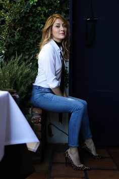 Sasha Alexander on hair, skincare, diet and Rizzoli & Isles