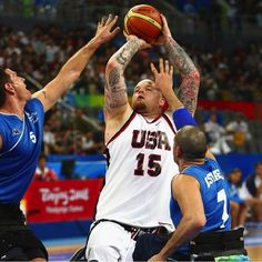 #WheelChairBasketball players have to work extra hard at their sport! At #SelfCatheters we work hard at supplying you with what you need to be the active person you are no matter what your life is like! #selfcath #selfcatheter #catheters #paralympics