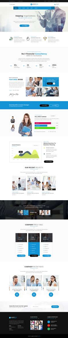 Envest Pro - Business Multipurpose PSD Template by websroad | ThemeForest