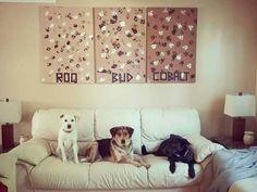 Doggie Art courtesy of M. Smith  ❤