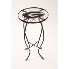 Georgia Bulldogs Glass Table $46.99 http://www.fansedge.com/Georgia-Bulldogs-Glass-Table-_-1405720312_PD.html?social=pinterest_pfid22-55597