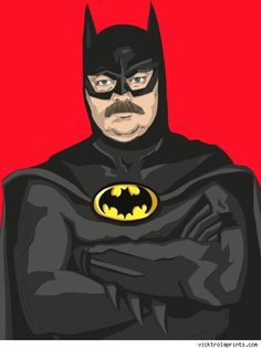 Vicky Ryan Dresses the 'Parks and Rec' Cast as DC Superheroes [Art] - ComicsAlliance | Comic book culture, news, humor, commentary, and reviews