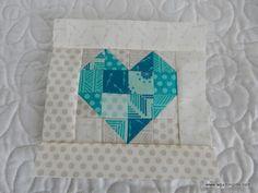 Patchwork Heart | A Quilting Life - a quilt blog