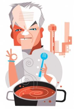 Wolfgang Puck by Pablo Lobato