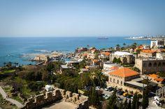 Aerial view of the amazing Byblos منظر رائع لجبيل من الجو By Louisa  #Lebanon #WeAreLebanon