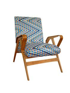 Big armchair  from the 60s by LoftPosterDesign on Etsy   #wood, #wax, #renovation, #old ferniture, #armchair, #interior design, #vintage