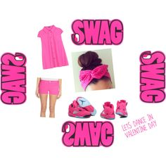 """""""Valentine day. No Glamour, Just pink."""" by athasyaas on Polyvore"""