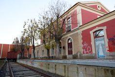 Patrimonio Industrial Arquitectónico: La antigua estación de tren de Ciudad Real podría ...