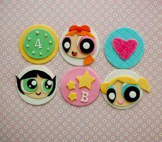 Power Puff Cupcakes