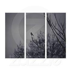 Twilight Bird Gallery Wrap Canvas