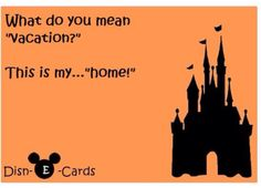 Hogwarts maybe my home, but disney is the best holiday home!!