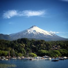 Villarrica Volcano - one of South America's most active volcanos. If you look closely you can see the steam at the top. #pucon #villarrica #volcano #chile #southamerica #travel #world #explore #tourism #solotravel #traveller #worldtraveller #instatravel #instatraveller #instapassport #travelgram #worldtravel #travelblog #tourist #igtravel #travelphotography #travelphotographer #mytravelgram by threemonthtourist