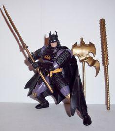 batman legends of batman SAMURAI BATMAN 100% Complete kenner 1994