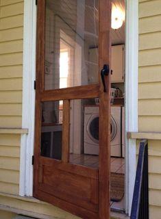 Image result for Craftsman Era Screen Doors