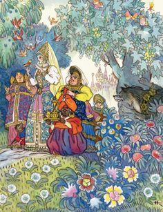 Золотой век детской иллюстрации Н.М.Кочергин
