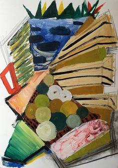 "Saatchi Art Artist Miguel Cabeza; Painting, ""Lovely Rubble"" #art"