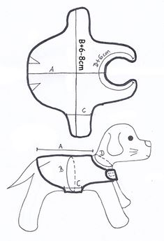 Discover recipes, home ideas, style inspiration and other ideas to try. Dog Coat Pattern, Dog Jacket, Puppy Clothes, Dog Sweaters, Dog Dresses, Dog Coats, Diy Stuffed Animals, Dog Accessories, Sewing Patterns