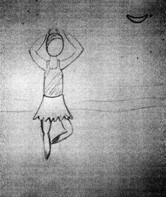 Bailarina desproporcional