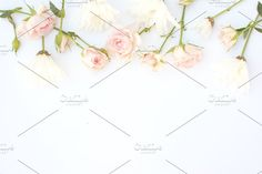Soft Pink Floral Stock Image by Charmingly Savvy on @creativemarket
