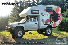 my car camper Toyota Motorhome, Mini Motorhome, Toyota Camper, Toyota Trucks, Off Road Camping, Minivan Camping, Diy Camping, Camping Ideas, Truck Bed Camper