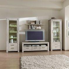 Wohnwände holz massiv modern  Frisch Wohnwand Modern Günstig Kaufen | Wohnzimmermöbel | Pinterest ...
