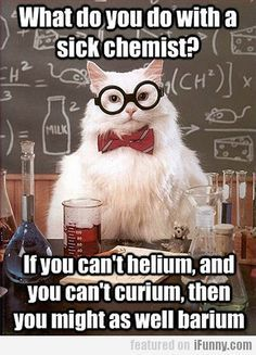 chemistry cat jokes + periodic table - Google Search