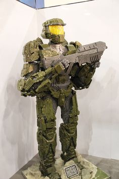 1000 images about lego halo on pinterest lego halo - Lego spartan halo ...