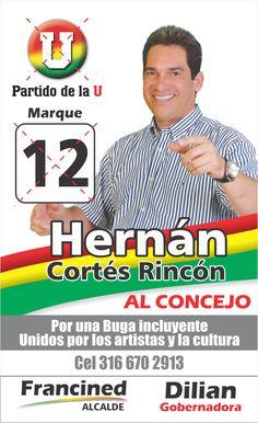 U#12 Hernán Cortes Rincon Social, Cards