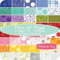 This n' That Strip Roll Nancy Halvorsen for Benartex Fabrics - Fat Quarter Shop