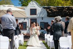 Alwyn & Debbie got married at Plaisir de Merle near Paarl. They celebrated their midday wedding with friend and family. Got Married, Wedding Dresses, Celebrities, Fashion, Bride Dresses, Moda, Bridal Gowns, Celebs, Wedding Dressses