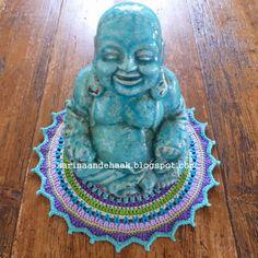 Karin aan de haak! Kleedje voor Boeddha - Patroon