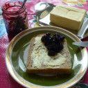 Vlierbessen- bramenjam Chutneys, Sauces, Pudding, Desserts, Food, Tailgate Desserts, Deserts, Custard Pudding, Essen