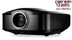 מקרן קולנוע ביתי HD מומלץ דגם HD-82 - מקרן לקולנוע ביתי, למשרד או לחדר י...