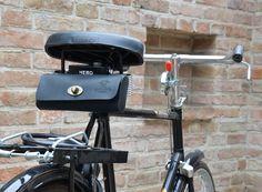 Fahrradtasche Lenkertasche Leder klein Fahrrad Satteltasche schwarz