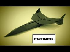 How To Make Paper Airplane - Easy Paper Plane Origami Jet Fighter Is Cool Origami Paper Plane, Origami Airplane, Paper Crafts Origami, How To Make Origami, How To Make Paper, Origami Jet Fighter, Naruto Eyes, Paper Planes, Phone Hacks