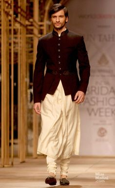 Tarun Tahiliani. this jacket over a kurta maybe