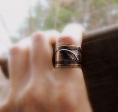 relic leaf ring